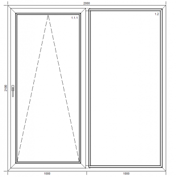 Sliding doors PSK Passiv Pro