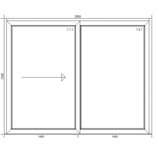 Drzwi przesuwne HST