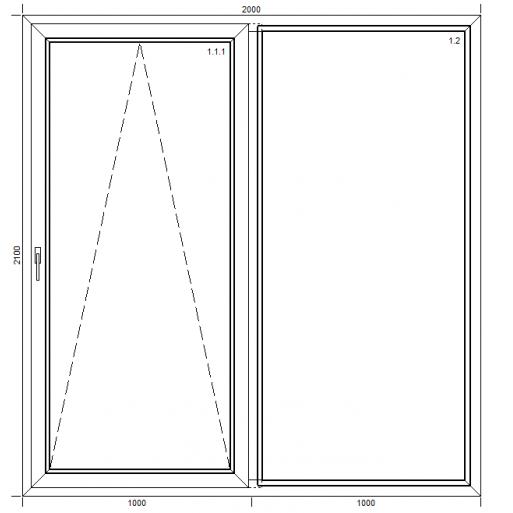 Drzwi przesuwne PSK Classic z montażem