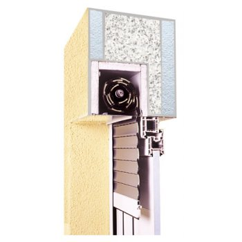 External blind concealed for the window 90x90 cm