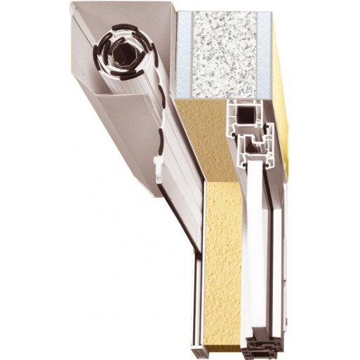 Roleta zewnętrzna standard do okna 150x220 cm z montażem