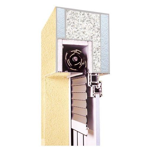 Roleta zewnętrzna podtynkowa do okna 90x90 cm z montażem
