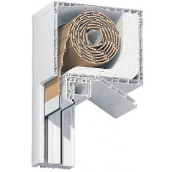 Roleta zewnętrzna nadstawna do okna 120x150 cm z montażem