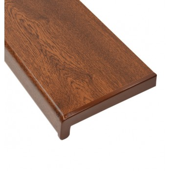 PVC internal window sill walnut color