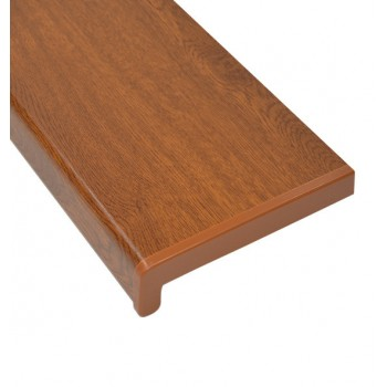 PVC internal window sill golden oak color