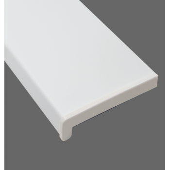 Parapet wewnętrzny PCV w kolorze białym
