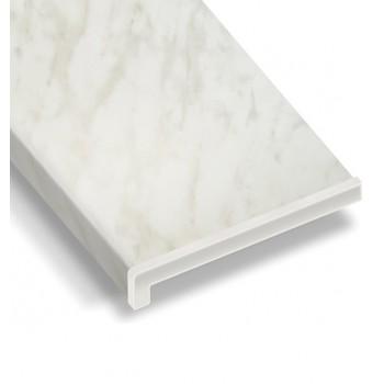 PVC-Innenfensterbank Farbe Marmor mit Montage