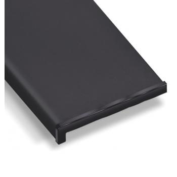 PVC internal window sill graphite color including installation