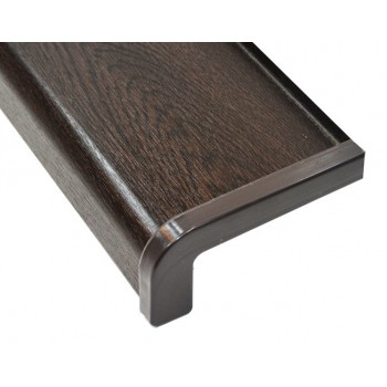 External metal window sill wenge including installation