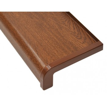External metal window sill walnut including installation