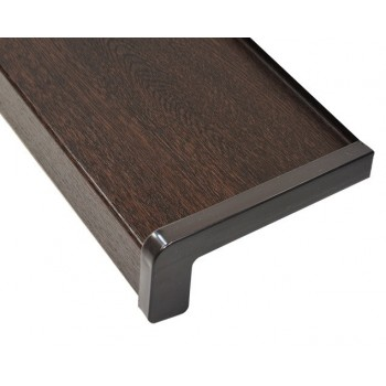 Classic external metal window sill wenge including installation