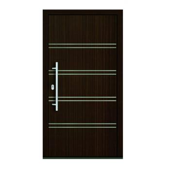 Drzwi PCV Classic system gotowych wypełnień drzwiowych Perito Michaela 24mm