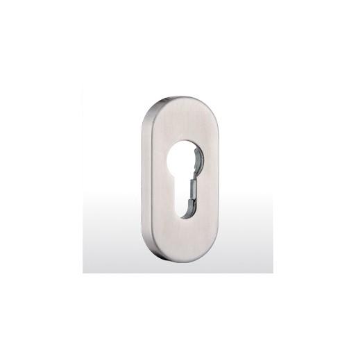 Slide-on oval rosette 9 mm ER