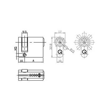 Półwkładka SX 8-F gQ