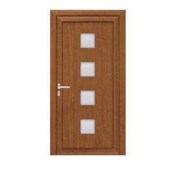 Drzwi PCV Classic system gotowych wypełnień drzwiowych Perito Zdena 24mm z montażem