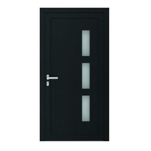 Drzwi PCV Classic system gotowych wypełnień drzwiowych Perito Dora 24mm z montażem