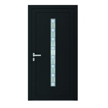 PVC doors Passiv Pro system of ready door fillings Perito Nicol 36mm including installation